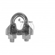 Wireklammer FZB 5mm 5-Pack