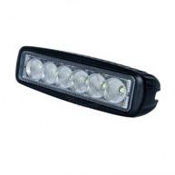 Arbetslampa 18w 6 led