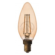 Filament Led Antique Kronljus