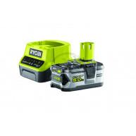 Batterikit ryobi one+ 18v 5ah rc18120-150