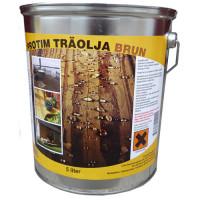Protim Träolja Brun 5 Liter