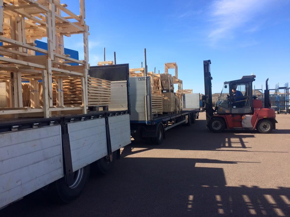 NP Nilsson levererar emballage till Lindab