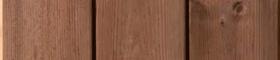 Billd på brunimpregnerad bryggtrall