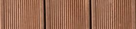 Bild på brunimpregnerad spårad bryggtrall
