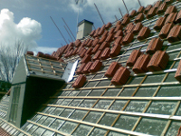 Avloppsluftning genom tak